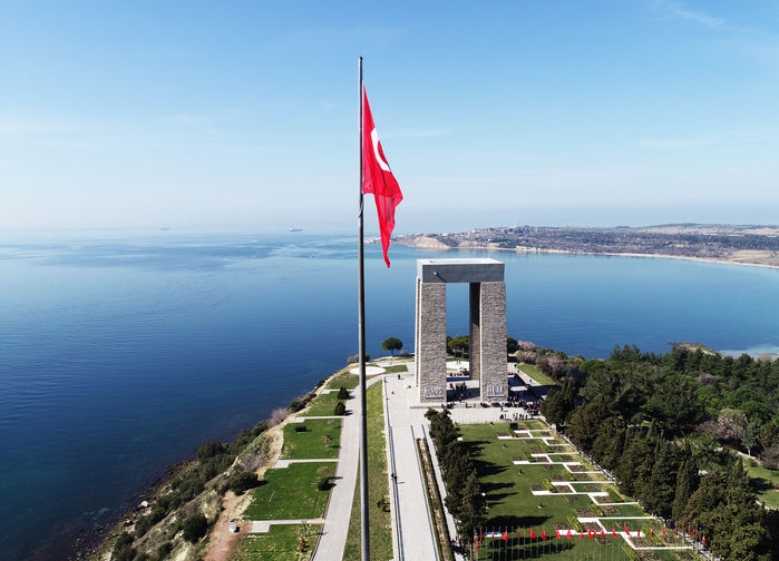 Martyrs Mamorial, Canakkale