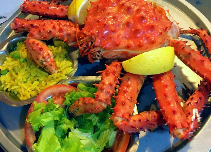 King Crabb, Cantina de Freddy, Ushuaia