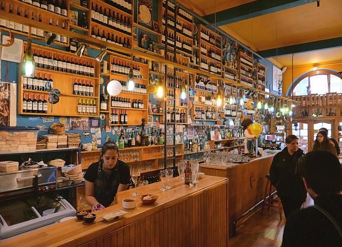 Restaurante La Luna, Punta Arenas, Chile