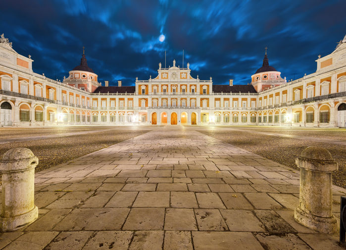 Kungliga Palatset i Aranjuez.