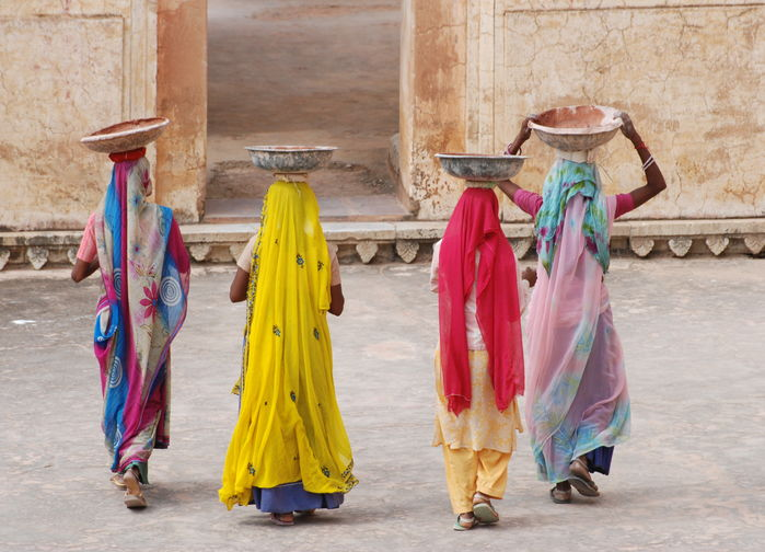 kvinnor i Rajasthan