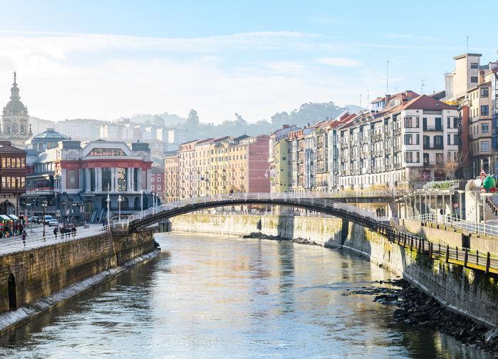 Rio Nervión, Bilbao