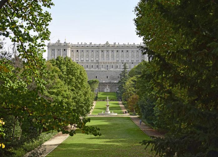 Palacio del Oriente, Madrid
