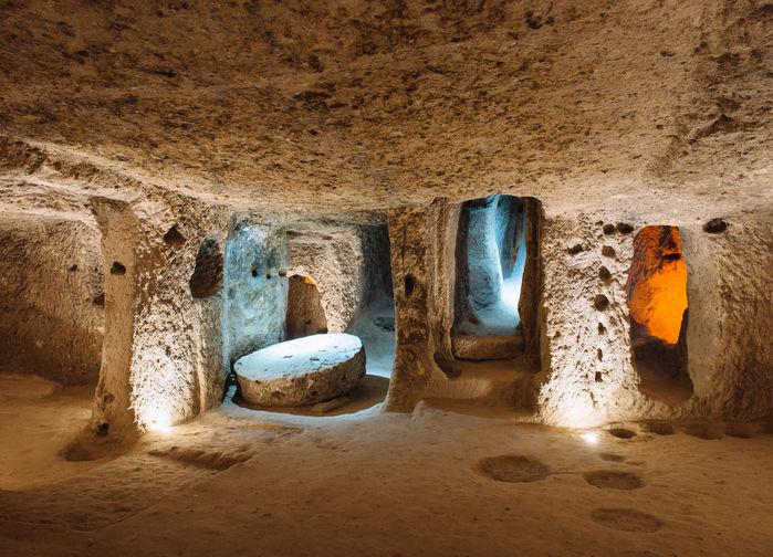 Kaymakli, underground city.