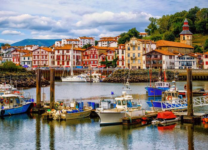 Saint Jean de Luz, franska Baskien