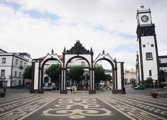 Stadsportarna i Ponta Delgada.