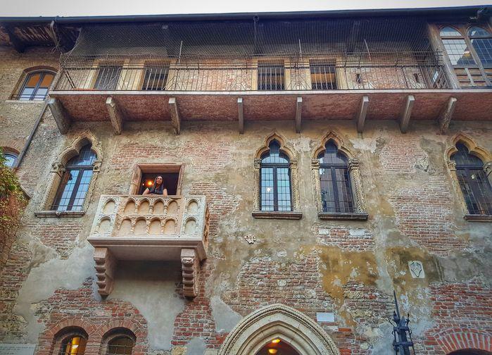 Julias balkong i Verona