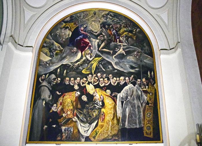 Greve Orgaz Begravning av El Greco