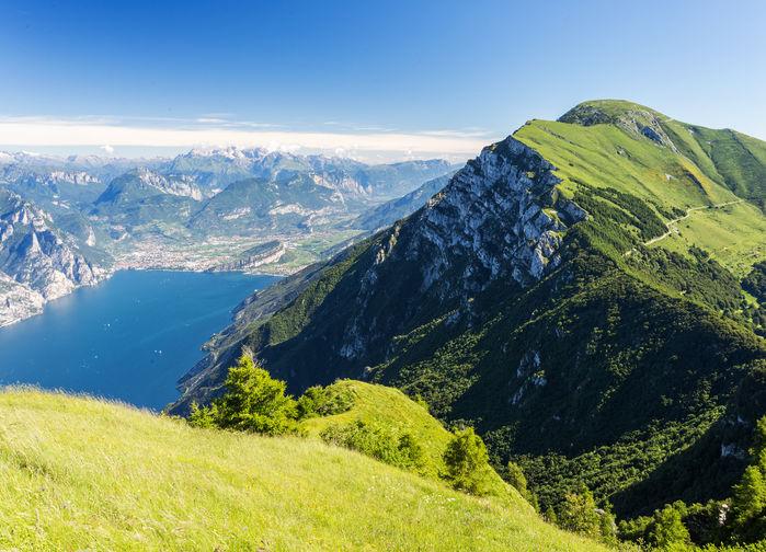 Garda lake from Monte Baldo