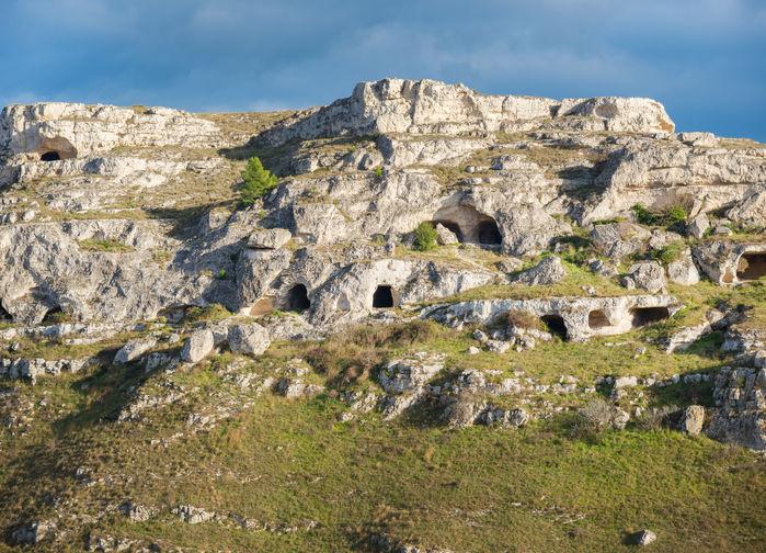 Matera grottor
