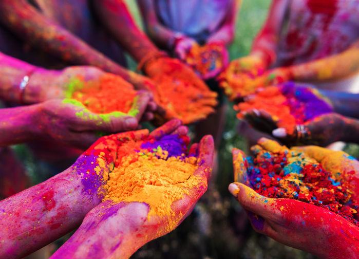 Färgstarka händer